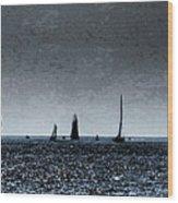 Tall Ships Halifax 2017 - Parade Of Sail Wood Print