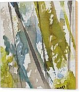 Tall Timber Wood Print