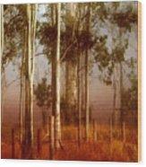Tall Timbers Wood Print