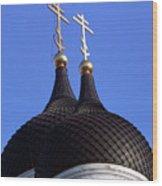 Tallinn Estonia Alexander Nevski Cathedral. Wood Print
