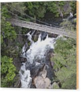 Tallulah Falls Bridge Wood Print