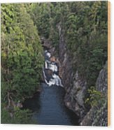 Tallulah Gorge 1 Wood Print