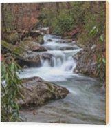 Tallulah River Wood Print