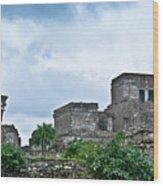 Talum Ruins 5 Wood Print