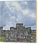Talum Ruins 8 Wood Print
