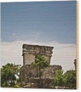 Talum Ruins11 Wood Print
