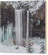 Tamanawas Falls 1 Wood Print