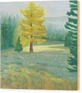 Tamarack Wood Print