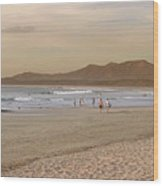 Tamarindo Beach, Costa Rica Wood Print