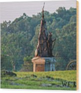 Tammany Regiment Wood Print