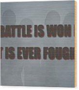Tampa Bay Buccaneers Battle Wood Print