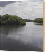 Tampa Bay Inlet  Wood Print