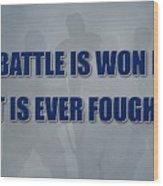 Tampa Bay Lightning Battle Wood Print