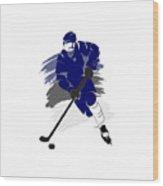 Tampa Bay Lightning Player Shirt Wood Print