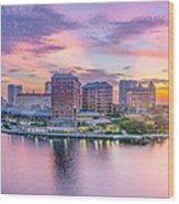 Tampa Bay Panorama  Wood Print