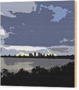 Tampa Bay Work Number Three Wood Print