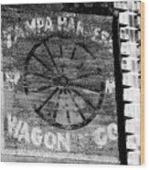 Tampa Harness Wagon N Company Wood Print