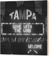 Tampa Theatre 1939 Wood Print