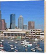 Tampa's Day Panoramic Wood Print