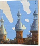 Tampa's Minarets Wood Print