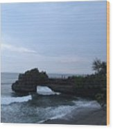 Tanah Lot Wood Print