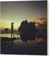 Tanah Lot Temple Wood Print