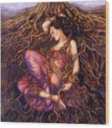 Tangled Wood Print by Janet Chui