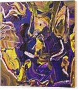 Tangled Torsos Wood Print