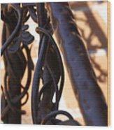 Tangled Vines Wood Print