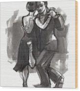 Tango 6 Wood Print