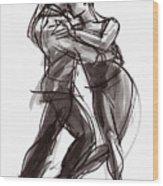 Tango #9 Wood Print