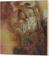 Tango Dance 998al  Wood Print