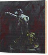 Tango Dancer 03 Wood Print