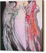 Tango Night Wood Print