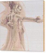 Tango Study 1 Wood Print