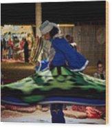 Tanoura Dancer Wood Print