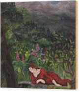 Tansel Of Loralin Wood Print