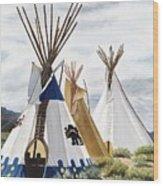 Taos Wood Print
