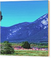 Taos Mountains Wood Print