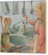 Tap Wood Print by Kestutis Kasparavicius
