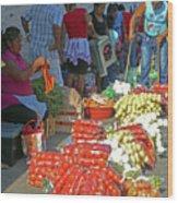 Tapachula 8 Wood Print