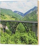 Tara River, Montenegro Wood Print