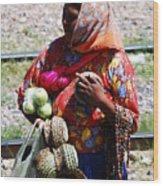 Tarahumara Casual Sale  Wood Print