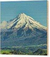Taranaki Wood Print
