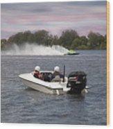 Taree Race Boats 2015 07 Wood Print