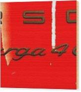 Targa Wood Print