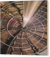 Targeting Books Wood Print