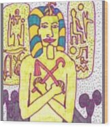 Tarot Of The Younger Self The Emperor Wood Print