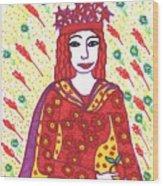 Tarot Of The Younger Self The Empress Wood Print