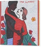 Tarot Of The Younger Self The Lovers Wood Print